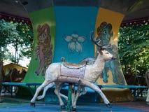 Zwierzęcia carousel obrazy royalty free