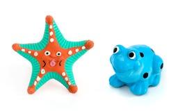 Zwierzęcia galanteryjny ceramics Fotografia Stock
