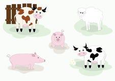 zwierzęcia gospodarstwo rolne Obrazy Stock