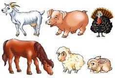 zwierzęcia gospodarstwo rolne Ilustracji