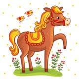 7 zwierzęcia kreskówki gospodarstwa rolnego ilustraci serii Zdjęcia Stock