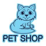 Zwierzę domowe logo Obraz Stock