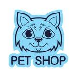 Zwierzę domowe logo Zdjęcia Stock