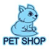 Zwierzę domowe logo Obraz Royalty Free