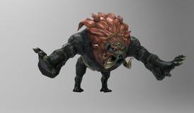 Zwierzę potwory Zdjęcia Royalty Free