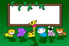 zwierzę sztandar ilustracji