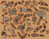 zwierzęta Australia ilustracja wektor