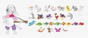 Zwierzęta gospodarskie Zdjęcia Royalty Free
