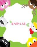 Zwierzęta tapetowi ilustracja wektor