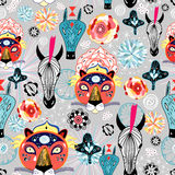zwierzęta texture dzikiego Royalty Ilustracja