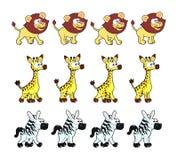 Zwierzęce Chodzące animacje Fotografia Royalty Free