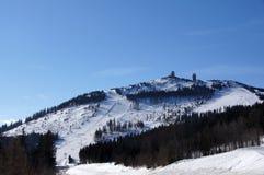 Zwiesel terenu Arber Narciarska góra Zdjęcie Stock