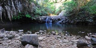 Zwilling fällt Maui, Hawaii Lizenzfreie Stockfotografie