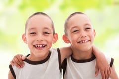 Zwillinge Stockbild