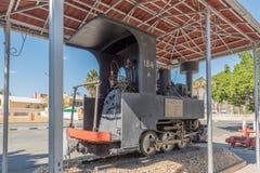 Zwillinge ingen lokomotiv för ånga 154A i Windhoek Royaltyfri Bild