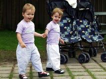 Zwillinge zusammen Lizenzfreie Stockbilder