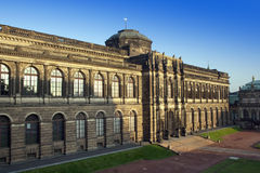 Zwinger宫殿在德累斯顿 免版税库存照片