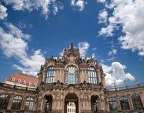 Zwinger宫殿(Der Dresdner Zwinger)在德累斯顿,德国 免版税库存图片