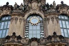Zwinger宫殿(Der Dresdner Zwinger)在德累斯顿,德国 图库摄影