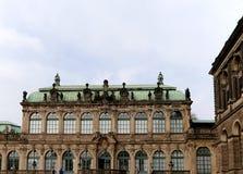Zwinger宫殿(Der Dresdner Zwinger)在德累斯顿,德国 免版税图库摄影