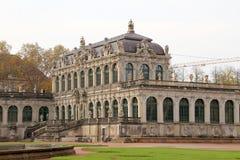 Zwinger宫殿(Der Dresdner Zwinger)在德累斯顿,德国 库存照片