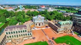 Zwinger宫殿(Der Dresdner Zwinger) 免版税库存图片
