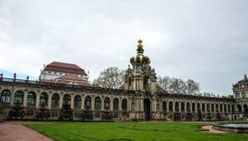 Zwinger,王宫合奏在德累斯顿,德国 图库摄影