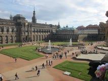 zwinger дворца dresden Германии стоковое изображение