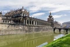 zwinger дворца dresden стоковые изображения