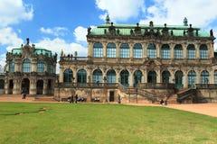 Zwinger в Дрезден стоковое изображение