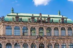Zwinger в Дрездене Стоковые Фото