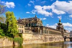 Zwinger в Дрездене Стоковое Изображение RF