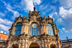 Zwinger в Дрездене Стоковое Изображение