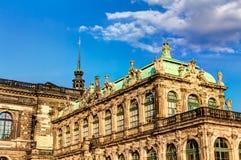 Zwinger в Дрездене Стоковые Фотографии RF