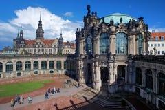zwinger дворца части dresden замока стоковое фото