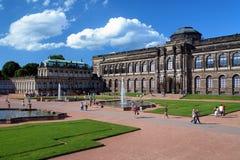 zwinger дворца dresden Германии стоковое фото