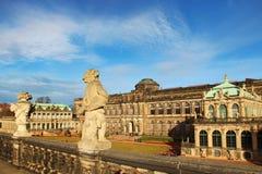 zwinger дворца dresden стоковые изображения rf
