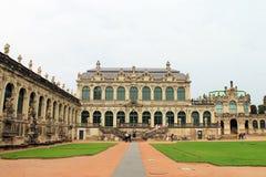 Zwinger Дрездена Стоковое Изображение