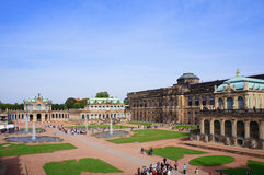 Zwinger - Дрезден, Германия Стоковая Фотография RF