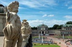 Zwinger, Дрезден Стоковые Изображения
