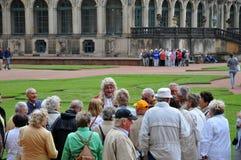 zwinger пенсионеров штольни dresden стоковая фотография