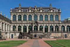 Изумительный городок Дрездена старый стоковая фотография rf