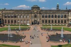 Изумительный городок Дрездена старый стоковое изображение rf