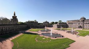 Zwinger. The Zwinger Palace in Dresden is a major German landmark Royalty Free Stock Photos