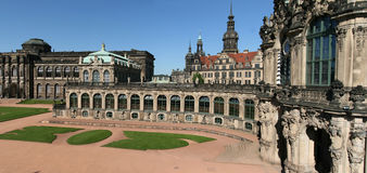 Zwinger. The Zwinger Palace in Dresden is a major German landmark Stock Photography