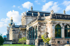 Zwinger castle, Dresden Stock Photo