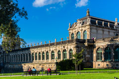 Zwinger castle in Dresden Stock Image