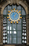 Zwinger clock Royalty Free Stock Photos