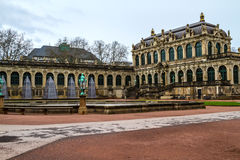 Zwinger courtyard Royalty Free Stock Photos