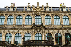 Zwinger courtyard Stock Photos